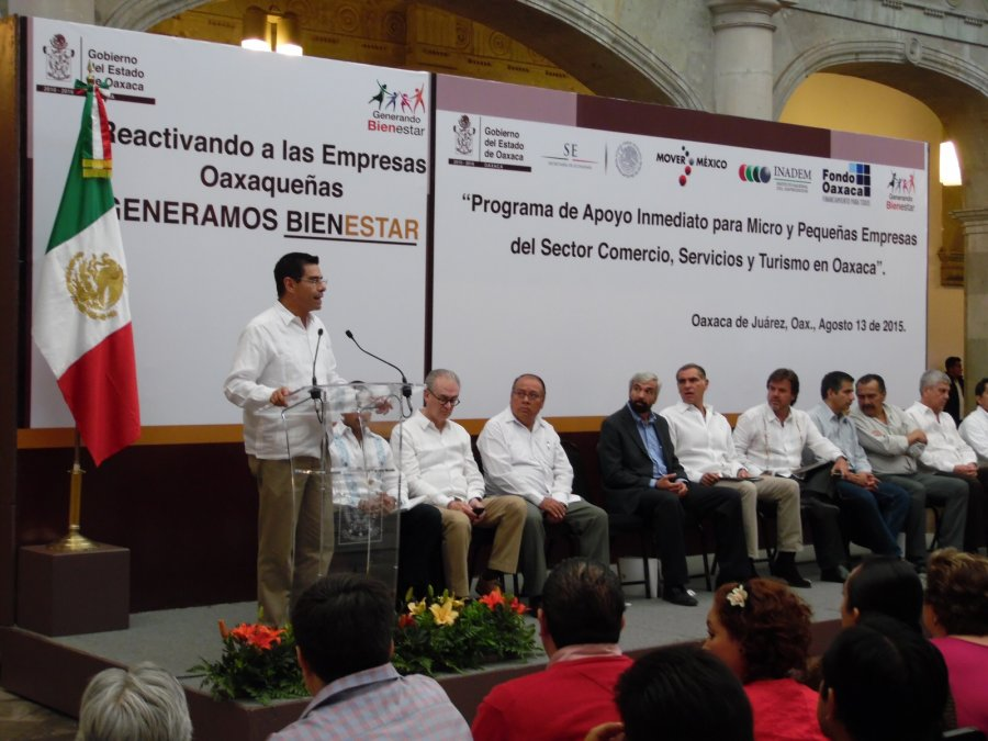 ENTREGA EL INADEM LOS PRIMEROS APOYOS A MIPYMES EN OAXACA