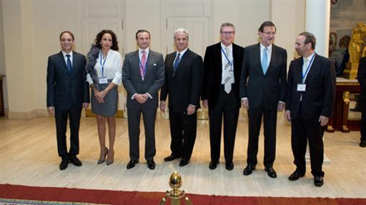El presidente recibe a las asociaciones participantes en la Internacional Leadership Reunion