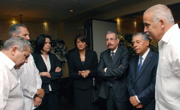 Presidente Medina da el pésame a Doña Dedé Mirabal y a su familia