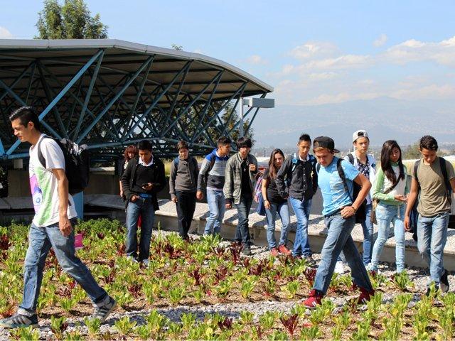 Inauguran azotea verde en IEMS de Iztapalapa