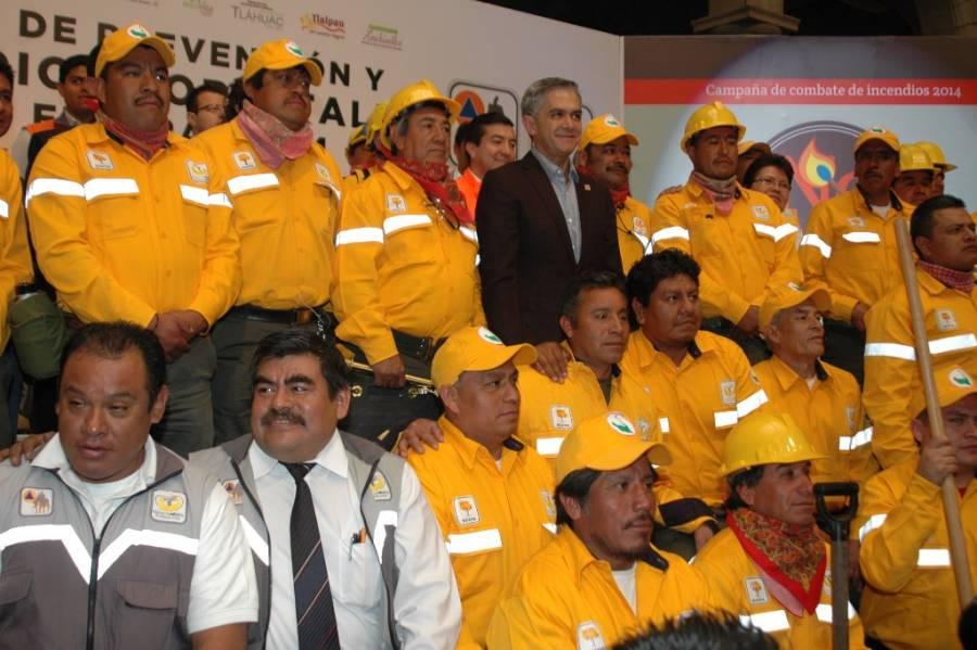 Programa Integral de Combate de Incendios Forestales en Suelo de Conservación