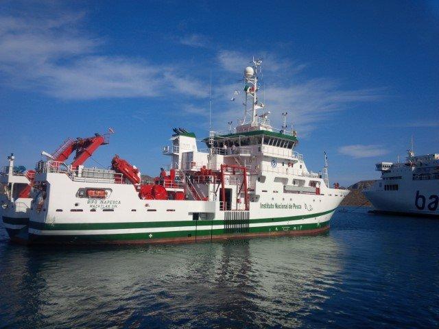 Concluye buque de INAPESCA crucero de investigación científica