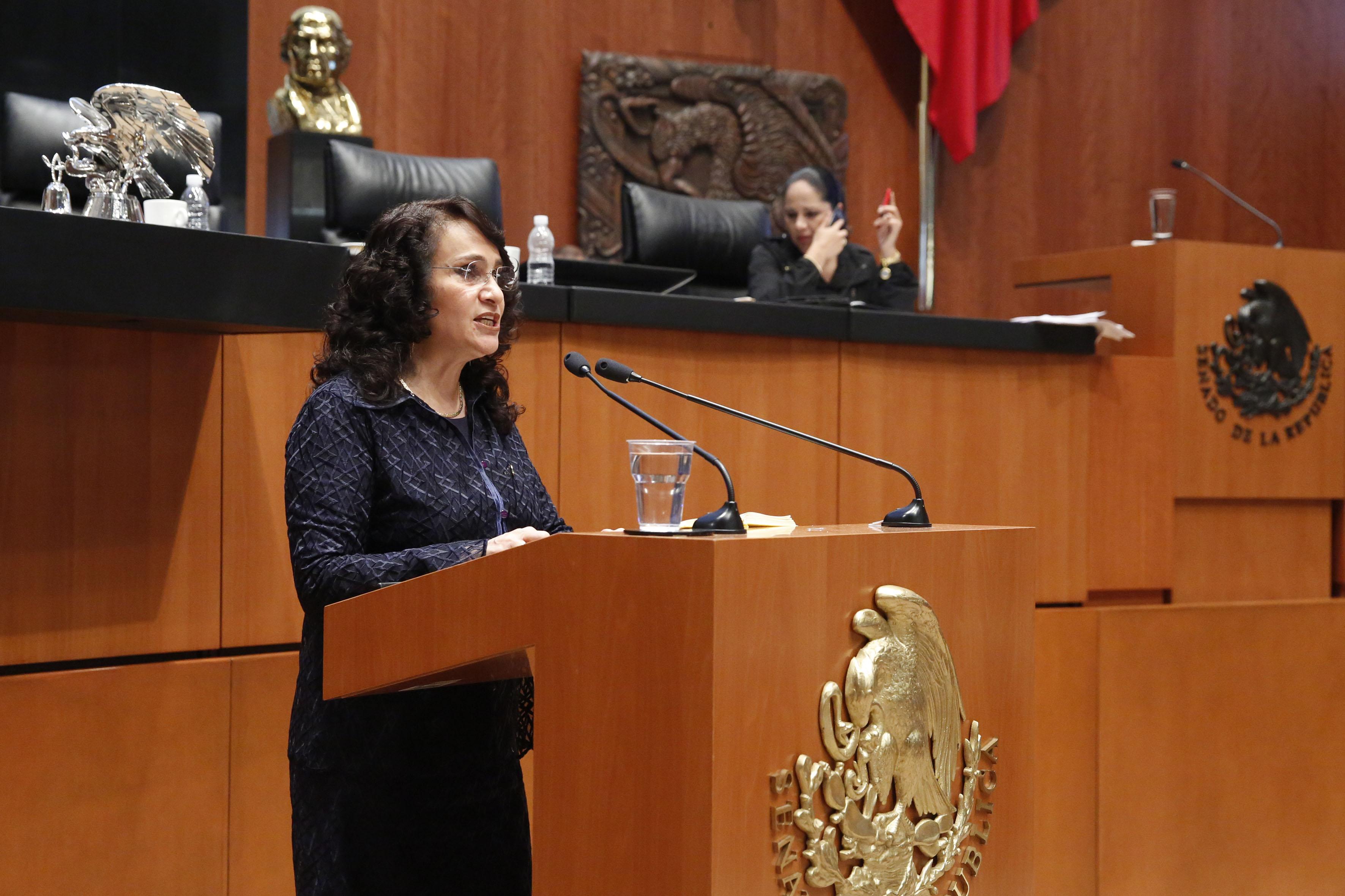 Lista de SAT es incompleta: senadora Dolores Padierna Luna.