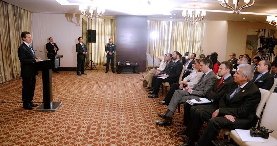 México, entre los primeros diez países con mayor potencial de crecimiento en los próximos doce meses: Enrique Peña Nieto