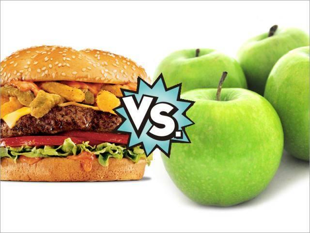 Contrarrestar anuncios de comida chatarra con otros de alimentación sana en radio y TV