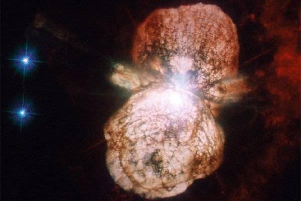 Imprimen en la UNAM modelo de la nebulosa del Homúnculo