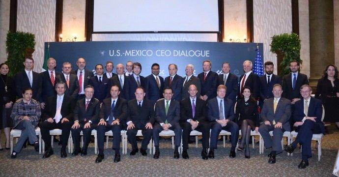 PARTICIPA EL SECRETARIO DE ECONOMÍA EN LA REUNIÓN DEL U.S. MÉXICO CEO DIALOGUE