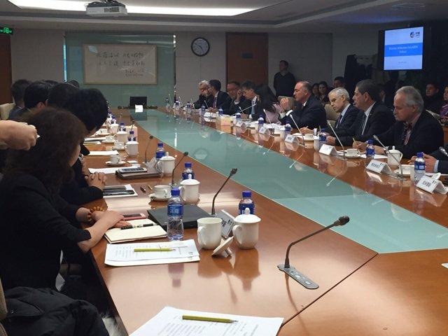 Encabeza secretario José Calzada Rovirosa reuniones con empresarios e importadores de China