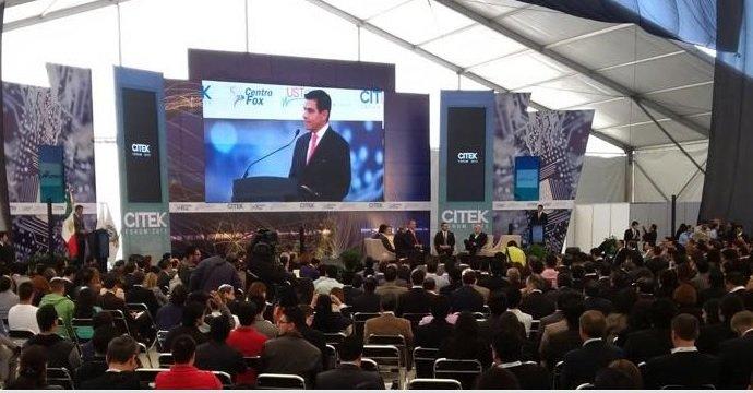 PARTICIPA EL PRESIDENTE DEL INADEM EN LA INAUGURACIÓN DEL FORO CITEK 2015
