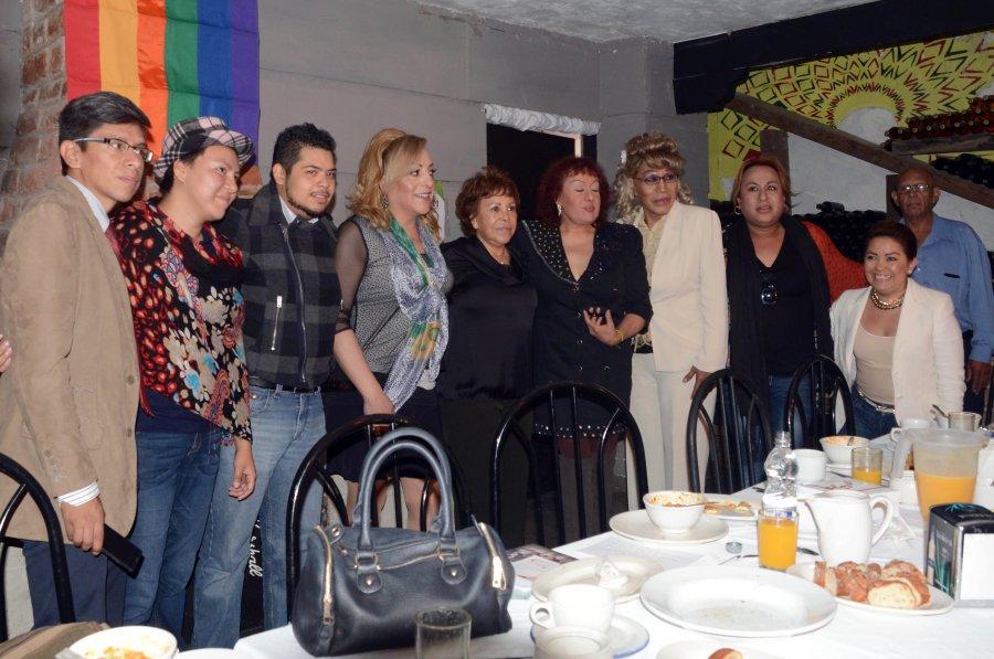 REUNION DE DIVERSIDAD CON CANDIDATA DEL PRI