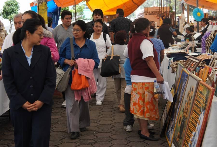 Inicia en Tláhuac venta de Emprendedores y Artesanos para consentir a mamá