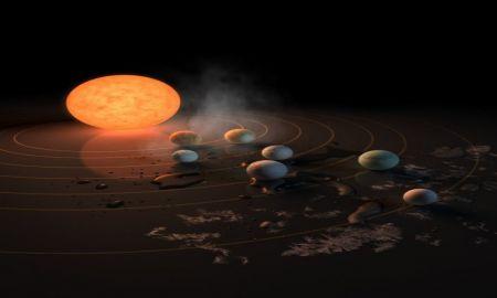 La NASA descubre 7 planetas muy parecidos a la Tierra