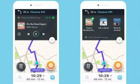 Spotify y Waze se unen